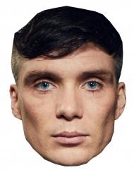 Irischer Schauspieler-Pappmaske Krimineller Oberhaupt hautfarben-schwarz