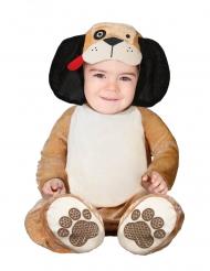 Hundekostüm für Babys Tier-Overall für Karneval beige-braun