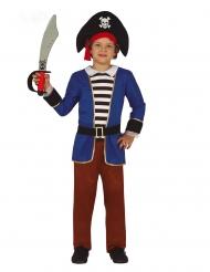 Piratenkostüm für Jungen Freibeuter-Verkleidung für Karneval bunt