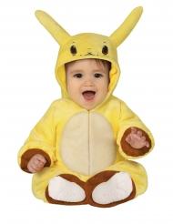 Anime-Babykostüm Karnevals-Overall für Kleinkinder gelb