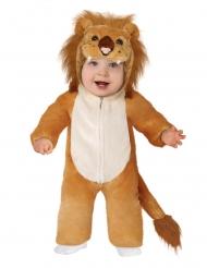 Niedliches Löwenkostüm für Kleinkinder Tier-Babykostüm braun