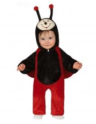 Süßes Marienkäfer-Kostüm für Kinder Karneval-Verkleidung schwarz-rot