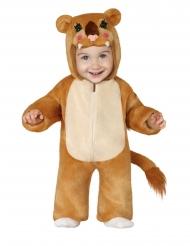 Löwen-Weibchen Babykostüm für Karneval Filmstar braun