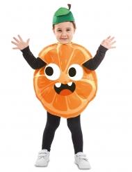 Saftiges Orangen-Kostüm für Kinder Faschings-Verkleidung bunt