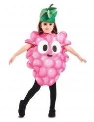 Humorvolles Weintrauben-Kostüm für Jungen und Mädchen bunt