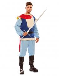 Märchenhaftes Prinzenkostüm für Herren Fasching bunt