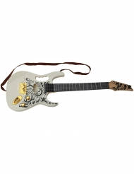 Elektrische-Gitarre musikalisches-Zubehör weiss 67cm