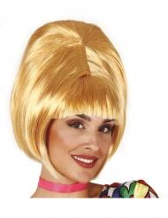 60´s Bob-Perücke für Damen Kostüm-Accessoire blond