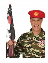Spielzeug-Gewähr Soldaten-Zubehör für Erwachsene schwarz-braun 68 cm