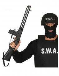 SWAT Spielzeug-Gewehr schwarz 69cm