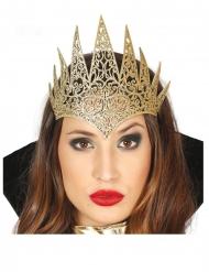Königin-Diadem für Damen Haarschmuck gold