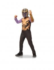 Avengers Thanos™-Kostüm für Kinder Faschingskostüm violett-gold