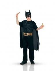 Batman™-Kostüm für Jungen mit Accessoires Faschings-Set schwarz-gold