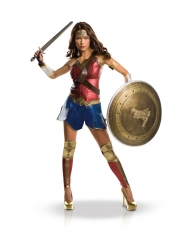 Wonder Woman™-Damenkostüm Superheldin-Kostüm bunt