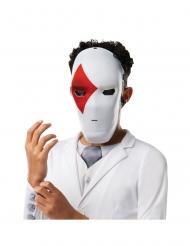 Wild Card™-Fortnite™-Maske Videospiel-Maske für Kinder weiss-rot