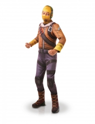 Fortnite™-Kinderkostüm Raptor™ Lizenz gelb-braun