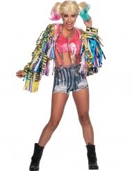 Freches Harley-Quinn™-Kostüm Birds of Prey™ Damen bunt