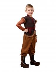 Frozen 2™ Kristoff-Kostüm für Fasching Disney-Lizenz braun