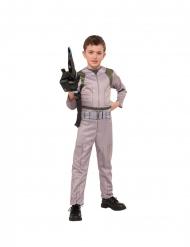 Cooles Ghostbusters™-Kostüm für Jungen Halloween-Kostüm beige-grün-schwarz