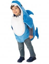 Baby-Hai-Kostüm für Kleinkinder Tier-Kostüm blau-weiss