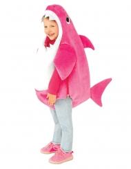 Kleiner Hai Mädchenkostüm für Kinder Tier-Kostüm pinkfarben