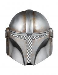 Mandalorien™-Maske Star Wars™ Accessoire für Erwachsene grau