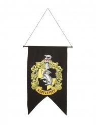 Hufflepuff™-Banner Harry Potter™-Partydeko schwarz-gelb