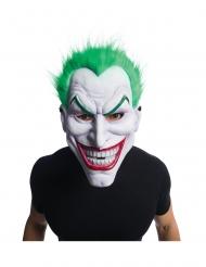 Lizenzierte Joker™-Maske mit Perücke Halloween-Zubehör weiss-grün