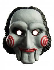 Jigsaw™-Maske Accessoire für Halloween Erwachsene schwarz-weiss