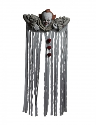 Schaurige Es™-Halloween-Deko für den Türrahmen weiss-rot