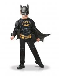 Batman™-Kinderkostüm Deluxe für Jungen Superhelden-Verkleidung schwarz-gelb