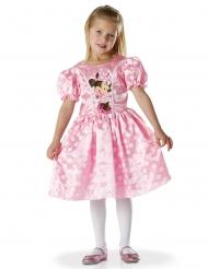 Hübsches Minnie Maus™-Kostüm für Mädchen Lizenz-Faschingskostüm rosafarben-weiss-schwarz