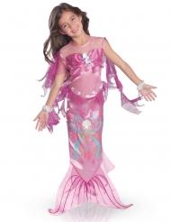 Meerjungfrauen-Kostüm für Mädchen Unterwasser-Prinzessin pink