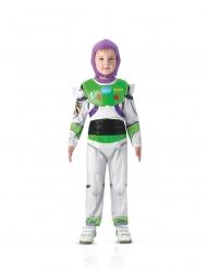 Buzz Lightyear™-Lizenzkostüm für Kinder Faschings-Verkleidung weiss-grün-violett