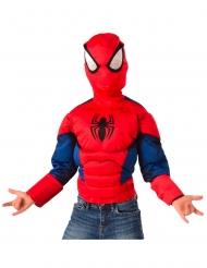 Spiderman™-Oberteil Lizenzartikel für Kinder rot-blau-schwarz