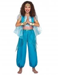 1001 Nacht-Kostüm für Mädchen Orient-Verkleidung türkis-gold