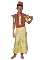 Orientalisches-Kinderkostüm für Jungen Faschings-Verkleidung gelb-rot