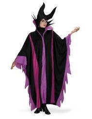 Magierin-Kostüm für Damen Faschingskostüm schwarz-violett