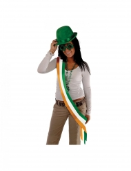Irische Schärpe für Erwachsene orange-weiss-grün
