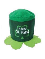Lustiger St. Patrick´s Day-Hut für Erwachsene Partyzubehör grün