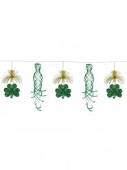 Kleeblatt-Girlande mit Spiralen Dekoration St. Patrick