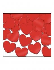 Herz-Konfetti für Muttertag oder Valentinstag Tischdekoration rot 28 g