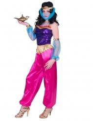 Tänzerin aus dem Orient Damenkostüm für Fasching pink-violett