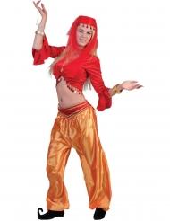 Orientalische-Tänzerin Damen-Kostümzubehör für Fasching rot