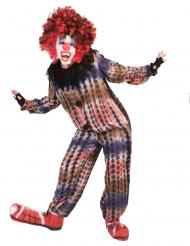 Böser-Clown-Kostüm für Kinder Halloween-Kostüm für Jungen bunt