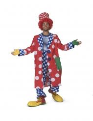 Zirkusclown-Mantel Faschings-Zubehör für Erwachsene bunt