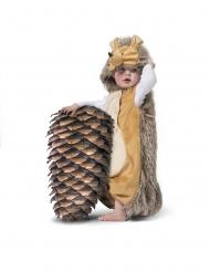 Süßes Igel-Kostüm für Kleinkinder Baby-Verkleidung braun