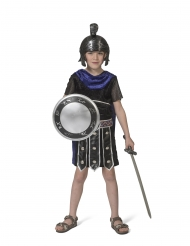 Antikes Römer-Kostüm für Kinder Faschings-Verkleidung schwarz-blau