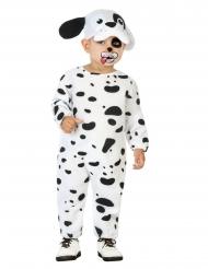 Niedliches Dalmatiner-Kostüm für Kleinkinder Baby-Verkleidung schwarz-weiss