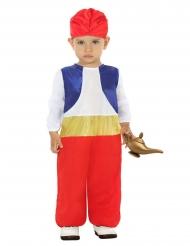 Orient-Prinz-Kostüm für Babys und Kleinkinder rot-blau